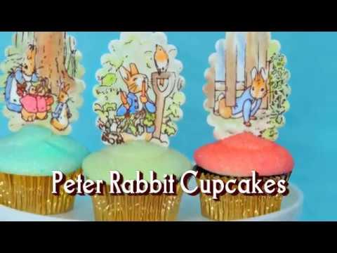 Make Peter Rabbit Cupcakes!