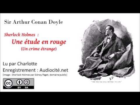 Livre audio : Sherlock Holmes - Une étude en rouge