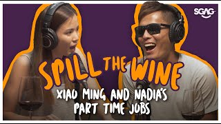 Spill The Wine Ep 3 Part 1   Xiao Ming and Nadia's Part Time Jobs  Nubbad TV   SGAG