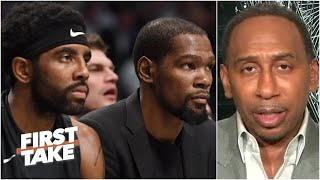 Stephen A. on the Nets' NBA Finals destiny | First Take