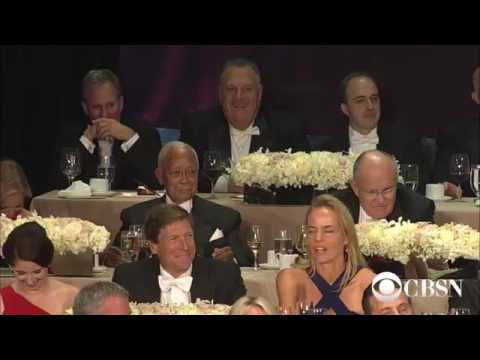 Highlights  Hillary Clinton at Al Smith charity dinner