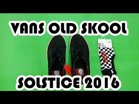468f18811271 UNBOXING  VANS OLD SKOOL SOLSTICE 2016. Storie of Sneakers