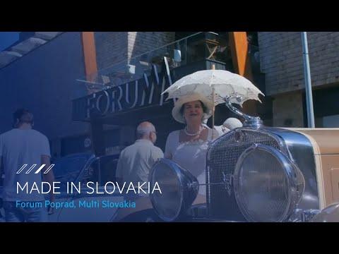 Multi Slovakia, Forum Poprad - Made in Slovakia