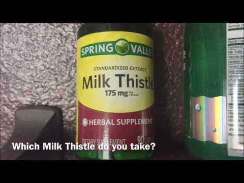 Milk Thistle Herbal Dietary Supplements Daily Value Not Established Daggers