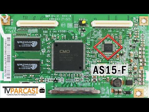 AS15 F, AS15 G, AS15 U, AS15 H, AS15 HF, AS15, AS15 AFLCD TV GAMMA DRIVER IC, T CON BOARD