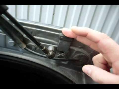 Как регулировать багажник ауди