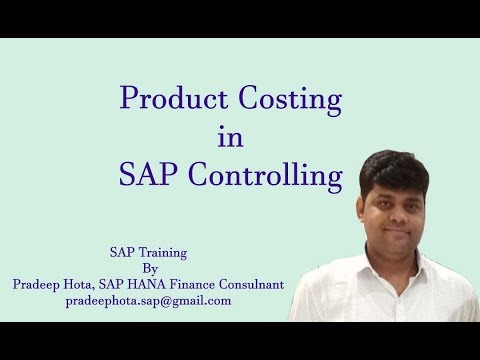 Sap Co Product Costing Standard Costing In Sap Work Center Activity Types Cogs In Sap Co Youtube