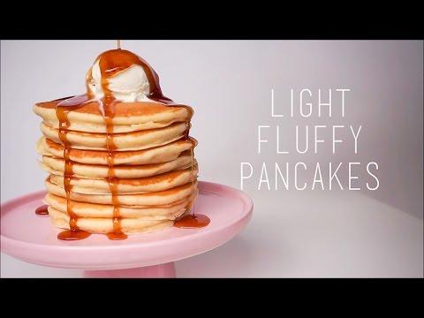 How to make pancake batter more fluffy
