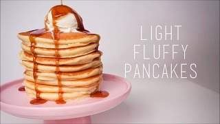 Delicious Light and Fluffy Pancakes  Keep It Cooking
