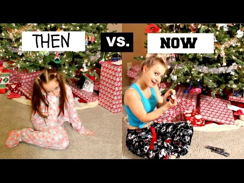 CHRISTMAS: Then vs. Now  || Lilyslounge14