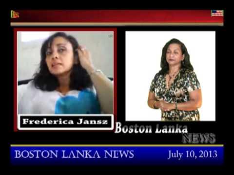 Boston Lanka with Frederica Jansz