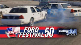 Cleetus McFarland's Ford Fest 50 Storms Holley Ford Fest 2020's Oval Track