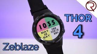 Zeblaze Thor 4 Smartwatch Review - GPS, 4G, Android 7.0