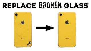 Replace the iPhone Back Glass with Laser Machine (Whole Process & GIVEAWAY)
