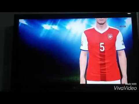 Kit Home 2017 Arsenal – PES 2015 Own resources / recursos próprios