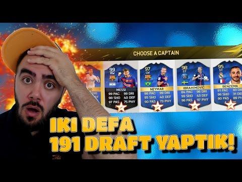 IKI DEFA 191 DRAFT YAPTIK!!! - FIFA 16