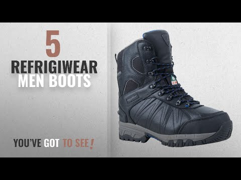Top 10 Refrigiwear Men Boots [ Winter 2018 ]: Refrigiwear Men's Extreme Freezer Boot, Black, 11.5