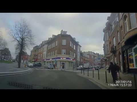 Belgium Brussel/Bruxelles driving dashcam 4k from Strombeek to Elsene to Brussels center 2017 part 2