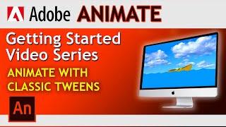 Adobe Animate! How To Create Classic Tween In Animate