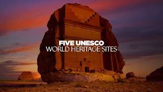 Saudi's UNESCO sites