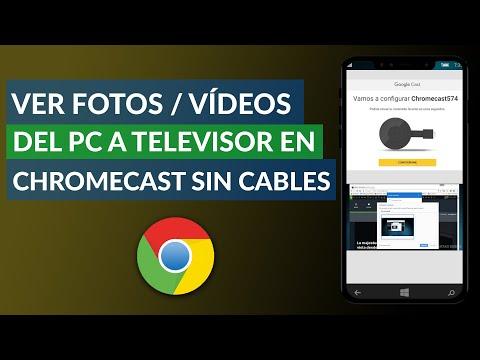 Cómo ver Películas, Videos y Fotos del PC en el Televisor con Chromecast sin Cables