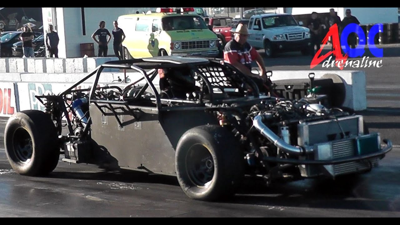 2 engines v6 3 8l gm turbo napierville adrenalineqc drag racing [ 1280 x 720 Pixel ]