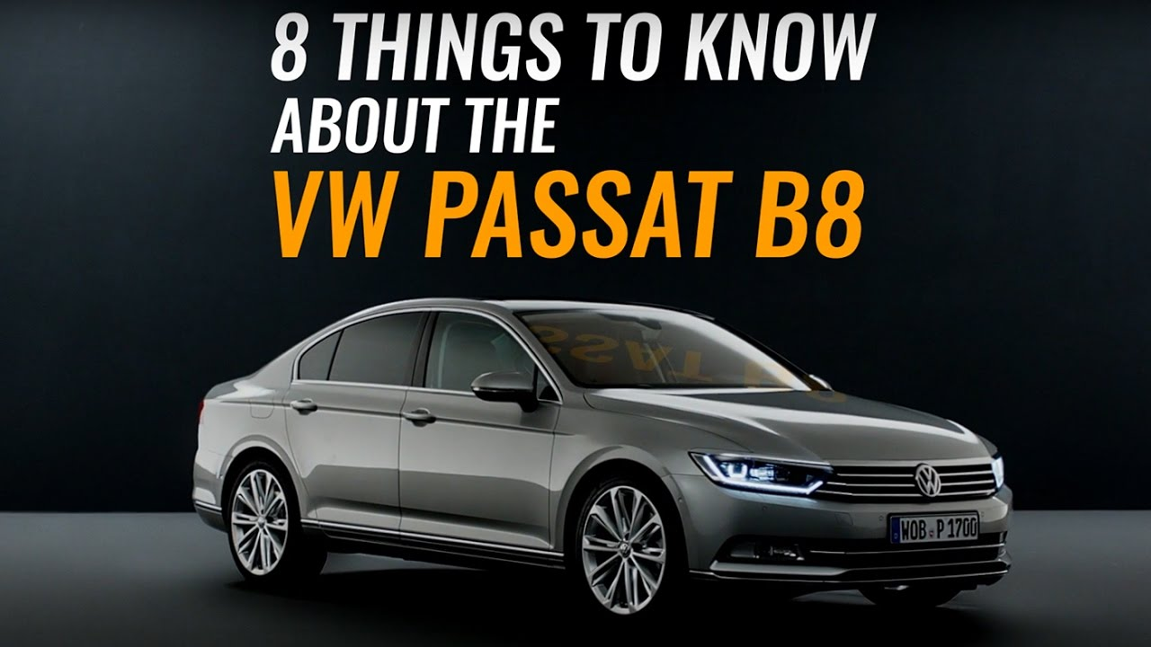 8 things to know about the volkswagen passat b8 autobuzz. Black Bedroom Furniture Sets. Home Design Ideas