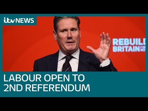 Labour votes to keep open the option of second Brexit referendum | ITV News