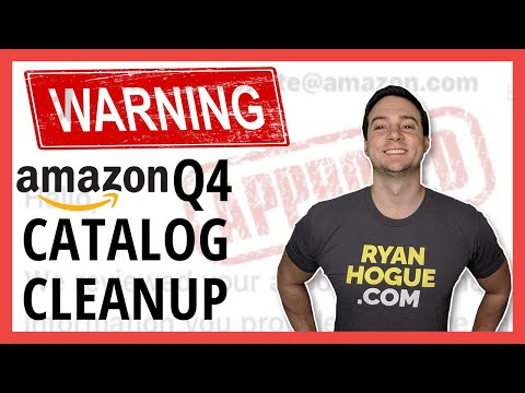 Amazon Catalog Cleanup: Clean Up your Account Heading Into Q4