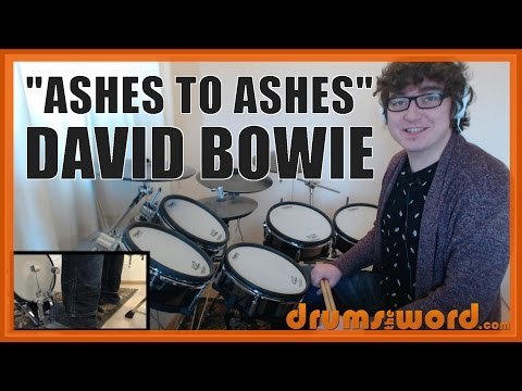 ★ Ashes To Ashes (David Bowie) ★ Drum Lesson PREVIEW | How To Play Song (Dennis Davis)