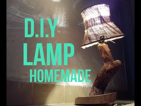 How to make Tree Lamp Super Idea/ D.I.Y Homemade Lamp The Driftwood Lamp