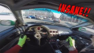 The CRAZIEST Street Racing And Drifting Compilation You'll EVER See!! (PART 2)