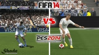 FIFA 14 vs. PES 14: Skill Moves