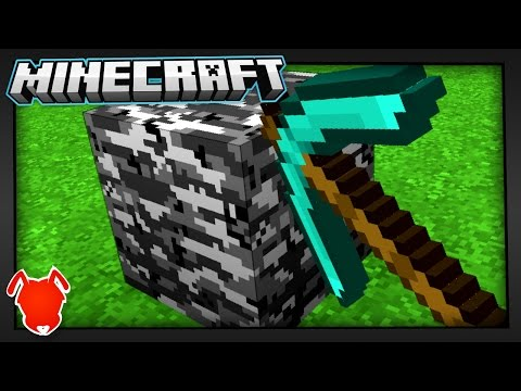 BREAKING MINECRAFT BEDROCK...with a PICKAXE?!