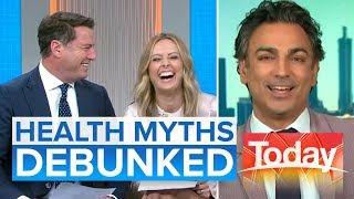 Neuroscientist debunks common health myths   Today Show Australia