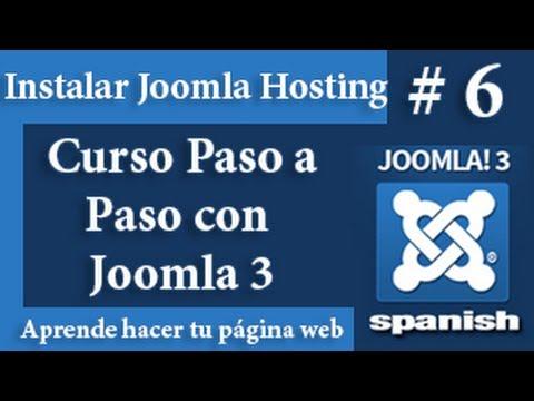 Instalación de Joomla en un Hosting 2da Parte
