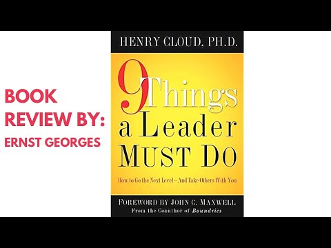 9 things Simply Must Do Written by Dr. Henry Cloud / Book Review
