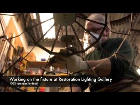Restoration of the Great Church Light at Rocky Hil...