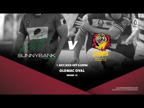 Queensland Premier Rugby R15: Sunnybank v Easts