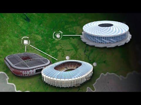 2018 World Cup stadiums