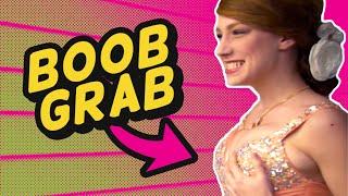 PROM BOOB GRAB (BTS)