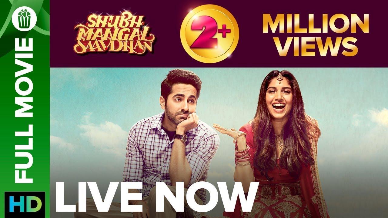 Download Shubh Mangal Saavdhan | Full Movie LIVE on Eros Now | Ayushmann Khurrana & Bhumi Pednekar