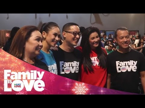 ABS-CBN Christmas Station ID 2018: Family Is Love | Behind-The-Scenes