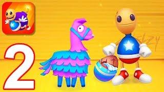Kick the Buddy: Forever - Gameplay Walkthrough Part 2 - Pinata and Egg (iOS)
