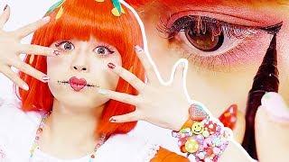 Haruka's EASY HALLOWEEN STRAWBERRY Makeup【Eng Sub】 Haruka Kurebayashi