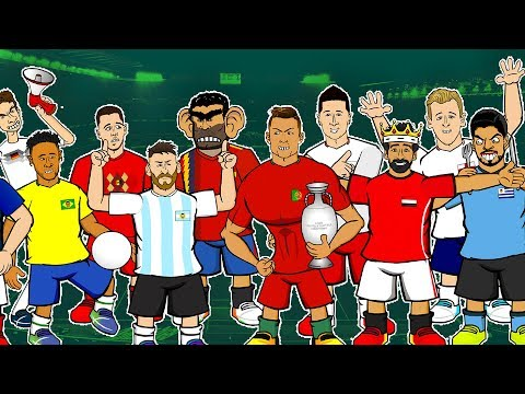 WORLD CUP 2018 PREDICTION!  📺 GOGGLE IN THE BOX 📺 442oons ft Neymar, Suarez, Ronaldo, & more!