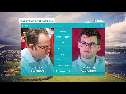 Chess.com Isle of Man International: Round 6 | Eljanov Vs Carlsen