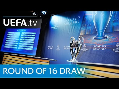 SPORT NEWS - UEFA CHAMPIONS LEAGUE! * ROUND 16 *DRAW!