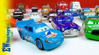 Disney Pixar Cars Diecast Toys Part 2 Mattel with Mcqueen Mater Doc New カーズ 2015