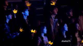 171231 Mixnine trainees during Crooked at BIGBANG Last Dance in Seoul Concert